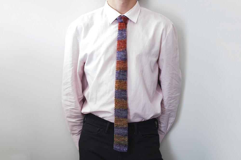 Herringbone Tie by Catherine Salter Bayar