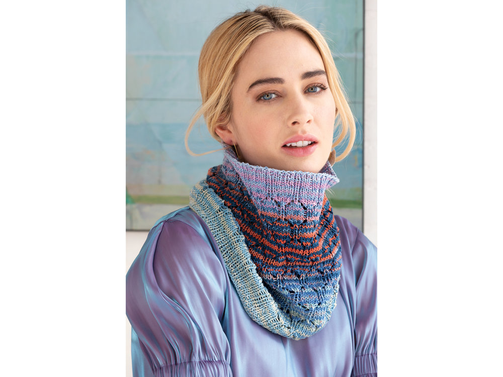 Lacy Cowl by Margret Willson
