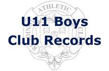U11 Boys Club Records