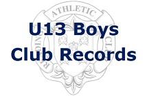 U13 Boys Club Records
