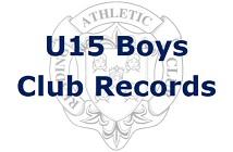 U15 Boys Club Records