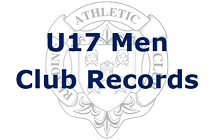 U17 Men Club Records
