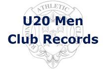 U20 Men Club Records