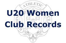 U20 Women Club Records