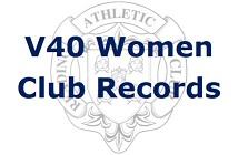 V40 Women Club Records