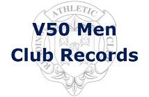 V50 Men Club Records