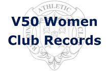 V50 Women Club Records