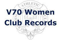 V70 Women Club Records