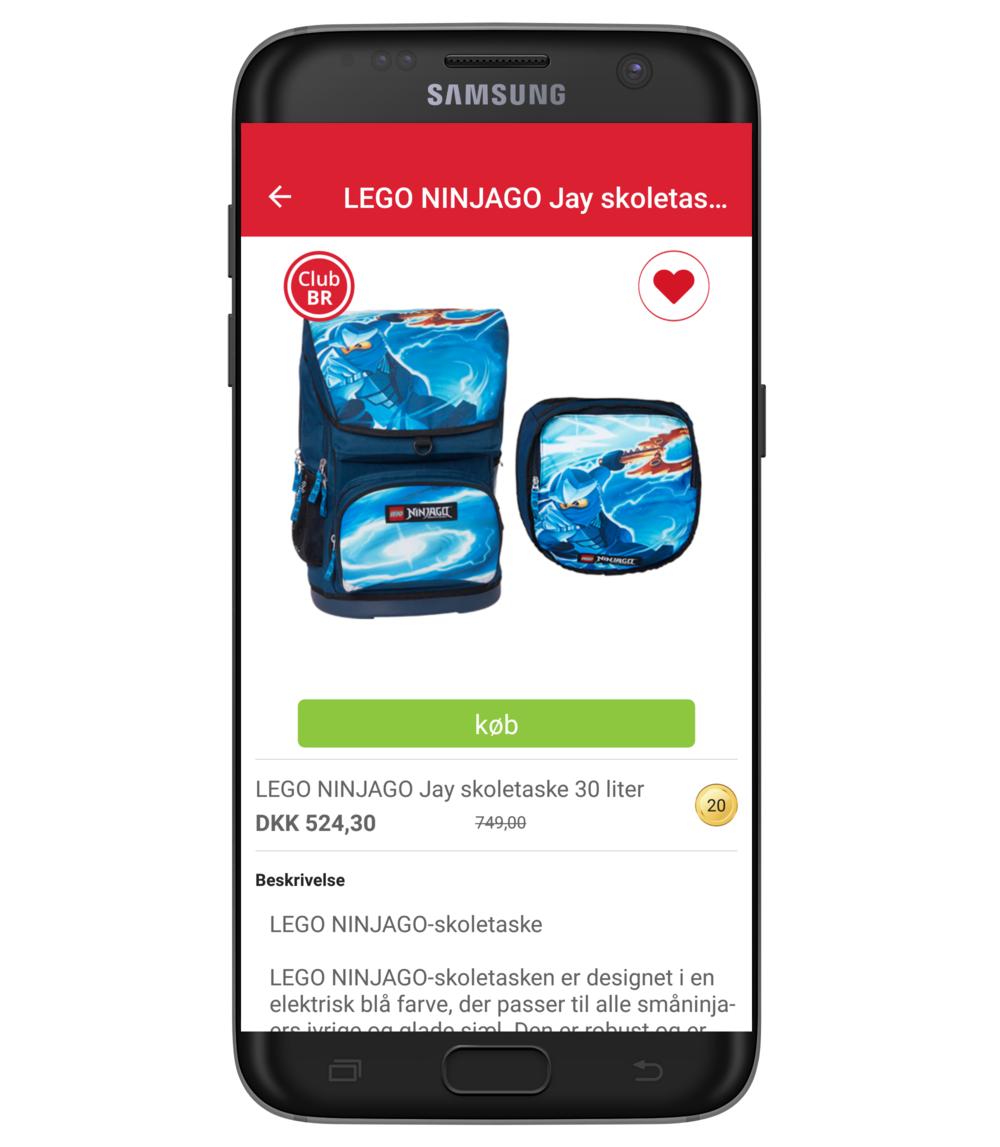 CLUB BR medlems app - Produktinfo
