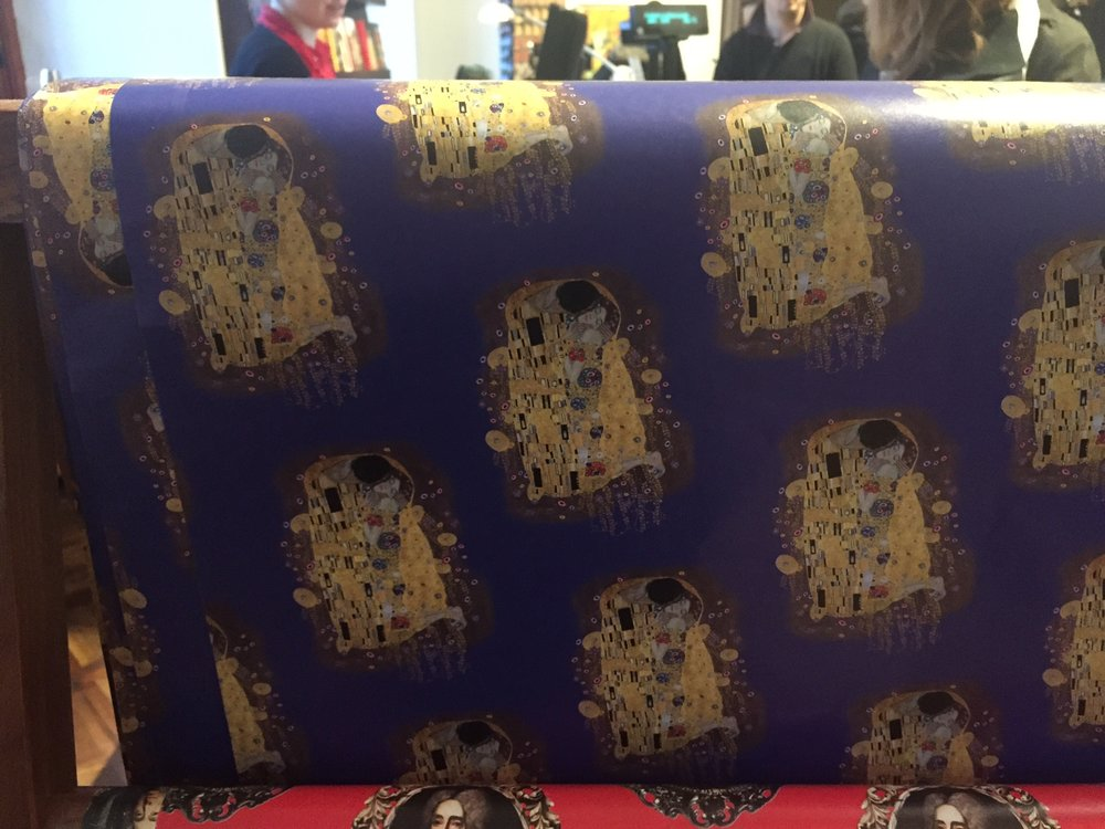 Klimt wrapping paper