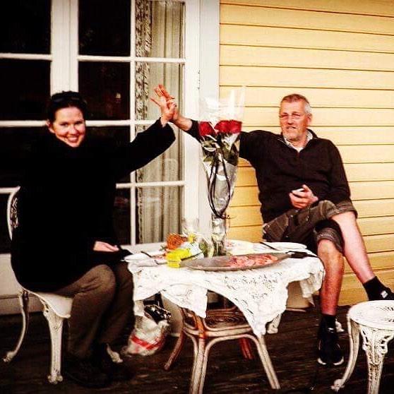 5 års-jubileum for Hans Torer og Miss Sophie. 🌹🌹🌹🌹🌹foto: Gisle Wennersten