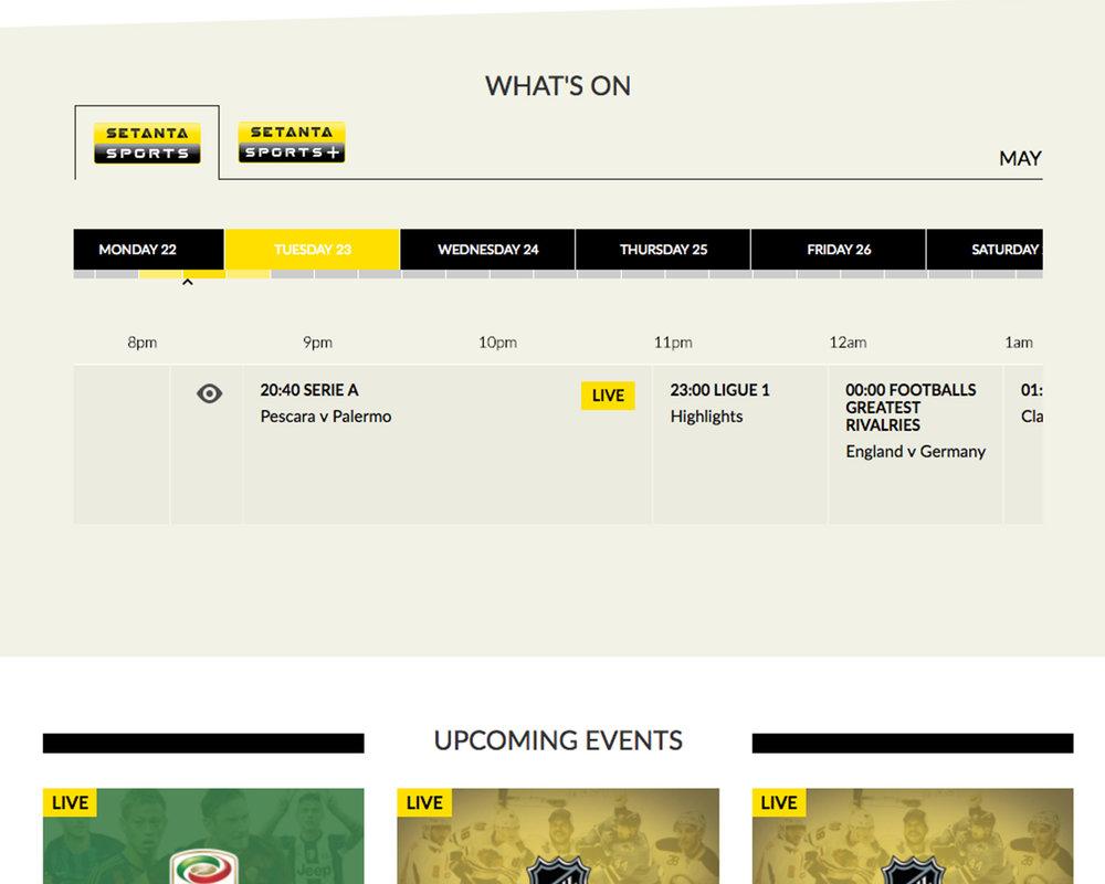 Setanta sports euro asia online dating