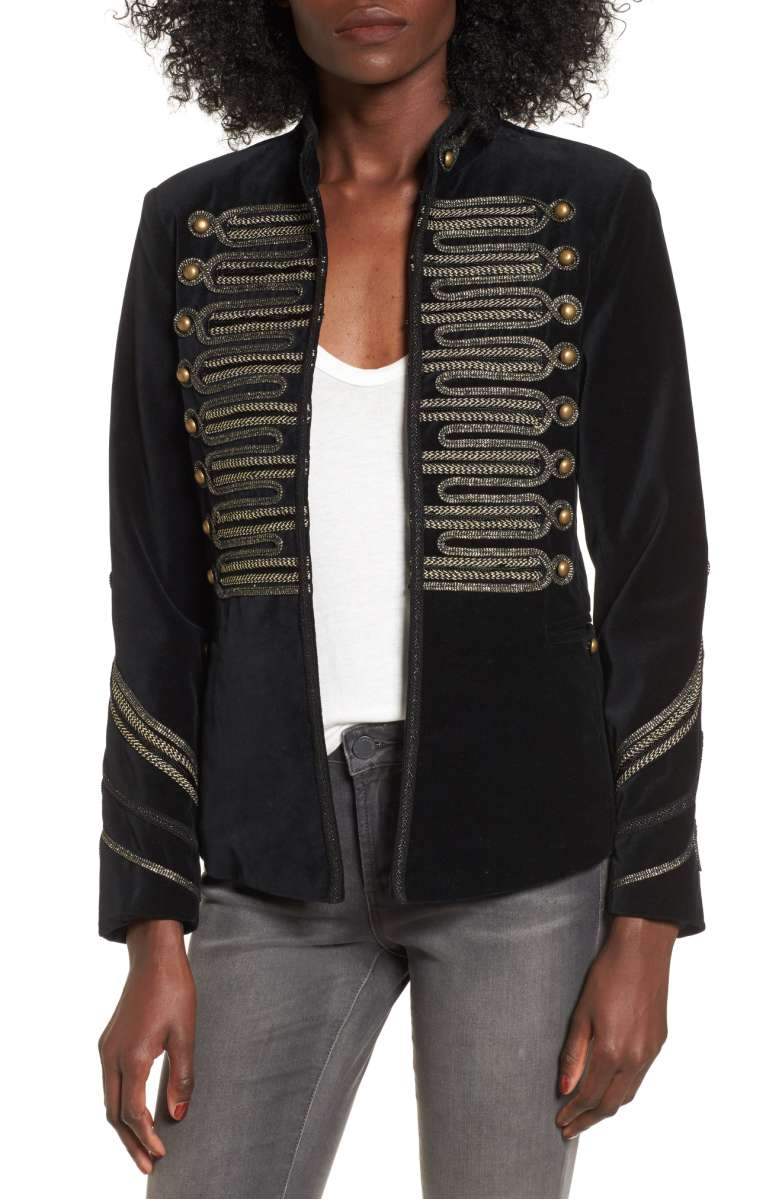 BLANKNYC Velvet Band Jacket - Was $189 Now $125.90