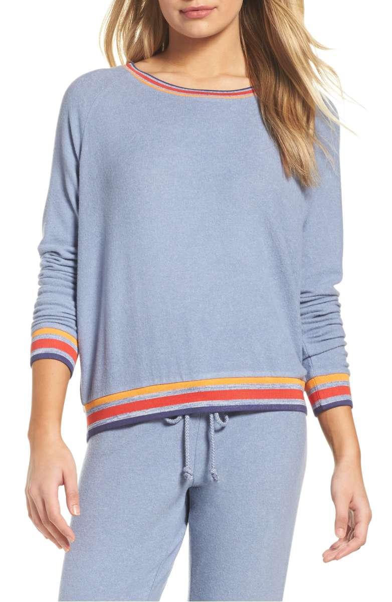 Make + Model Cozy Crew Raglan Sweatshirt - Was $49 Now $31.90