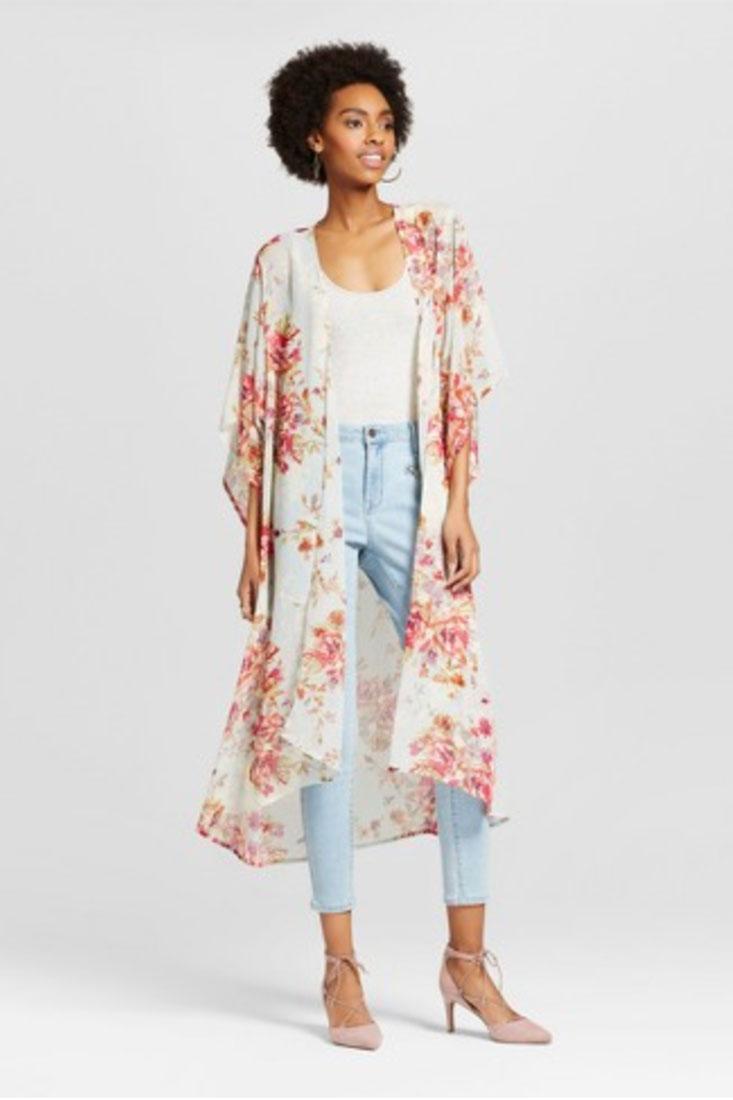 Xhilaration Women's Duster Kimono | $27.99