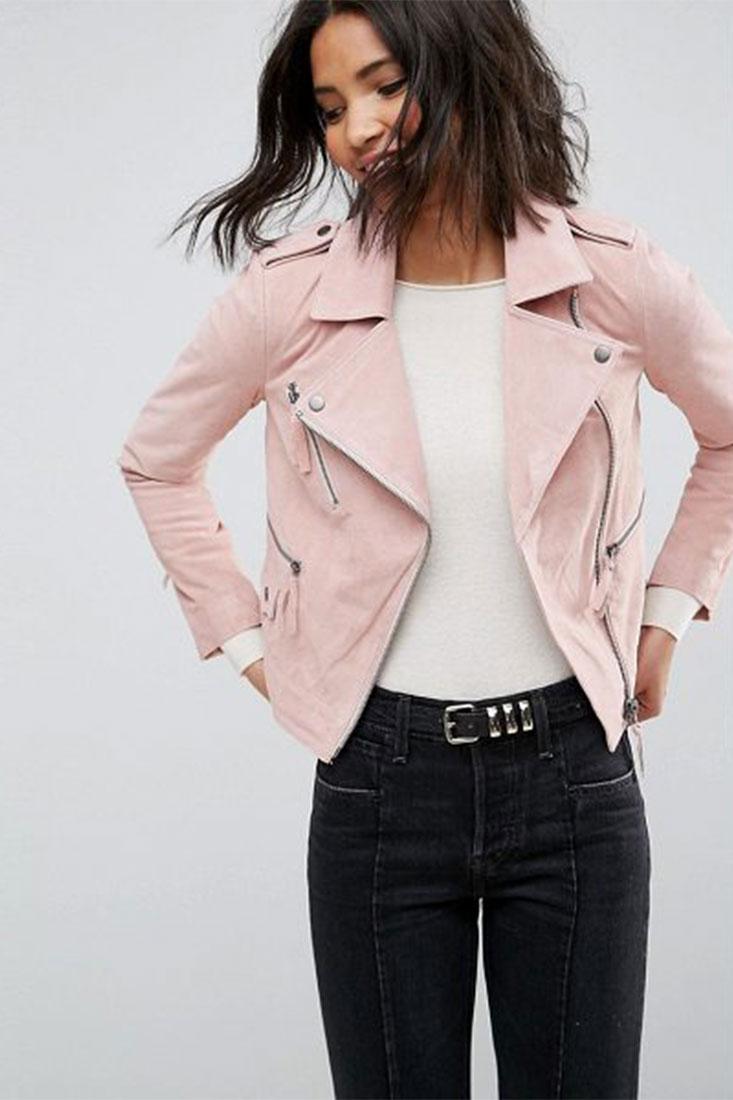 ASOS Suede Biker Jacket | $143