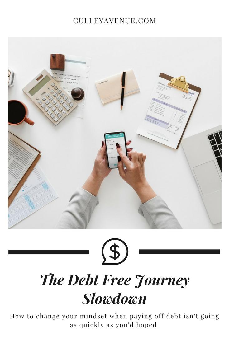 Debt Free Journey slowdown