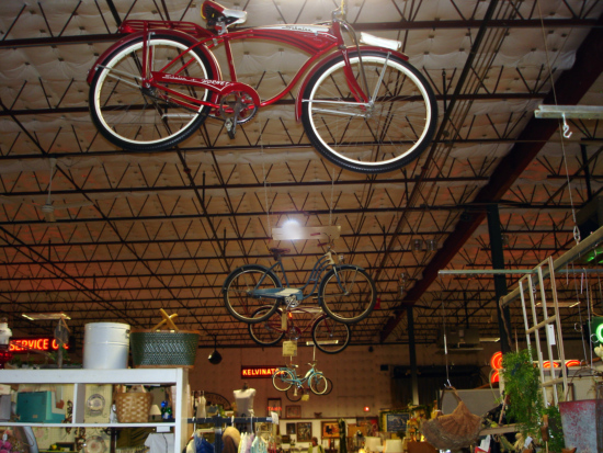 Barrett Street Antique Mall bikes