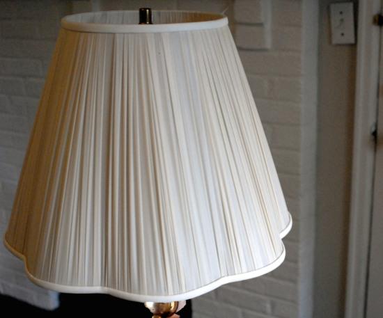ivory lamp shade