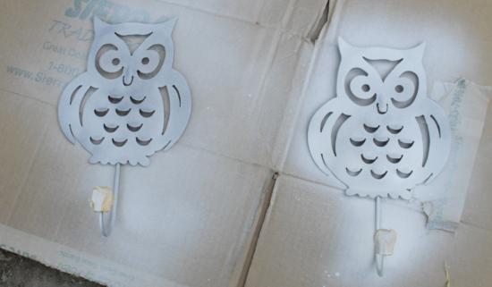owl hooks primed
