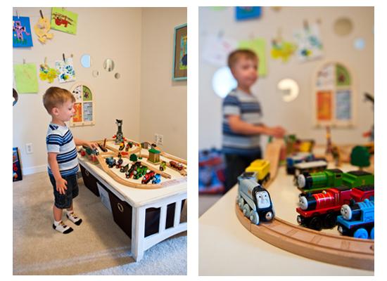 train play table