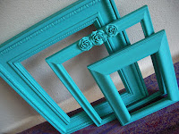 turquoise frames