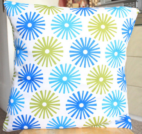 fireworks pillow