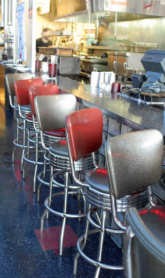 galaxy diner bar stools