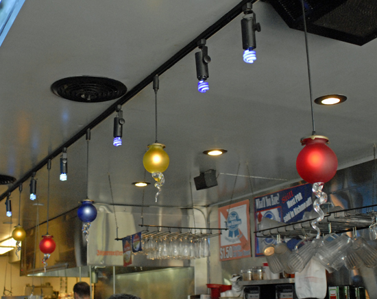 galaxy diner lights