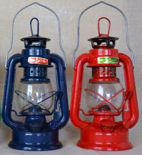 red & blue lantern