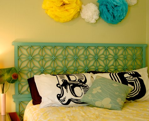 folding screen headboard
