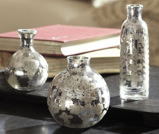 mini mercury vases