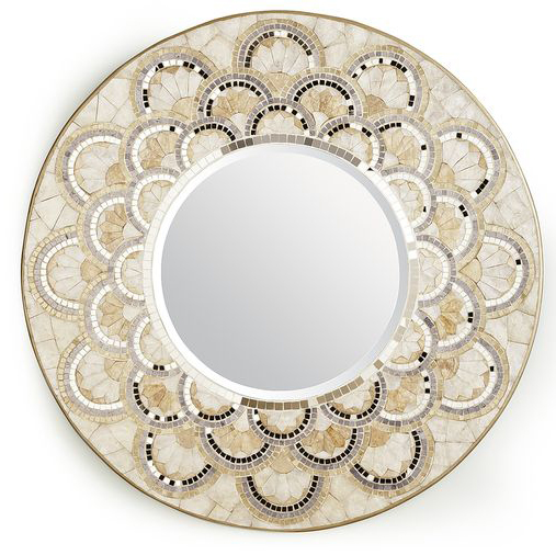pearl & gold mirror