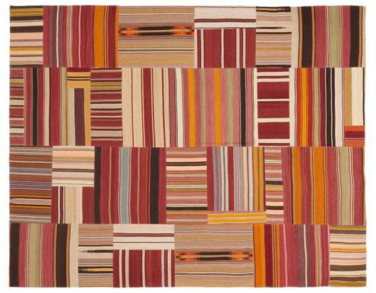 PB Patchwork Stripe rug