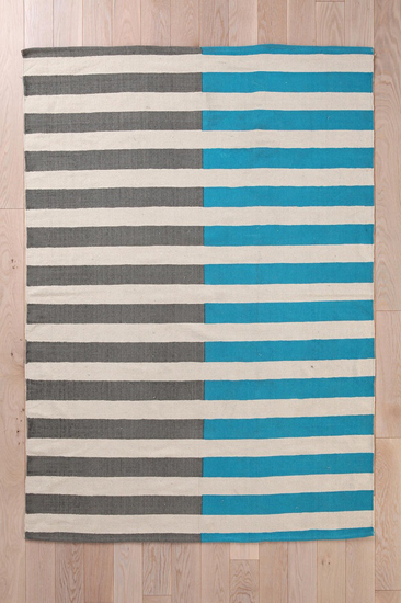 Urban Outfitters striped rug