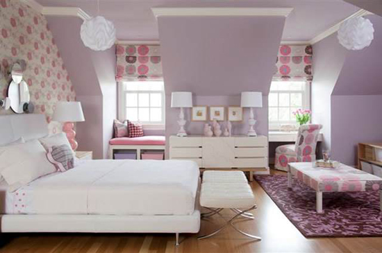 Tobi Fairley girl's bedroom
