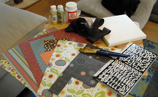 mod podge patchwork supplies