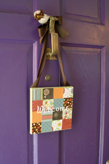 patchwork door sign3