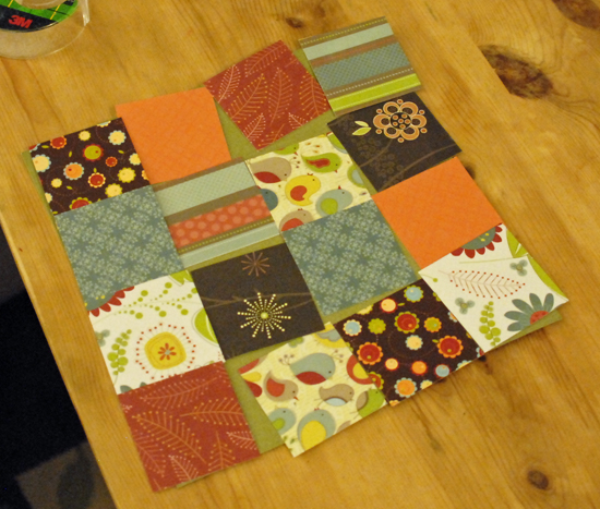 patchwork paper squares template
