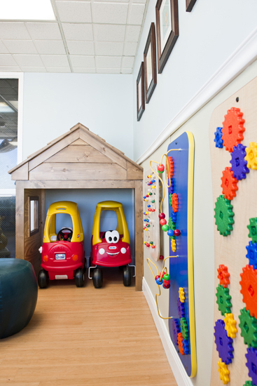 Chippenham pediatric playroom garage