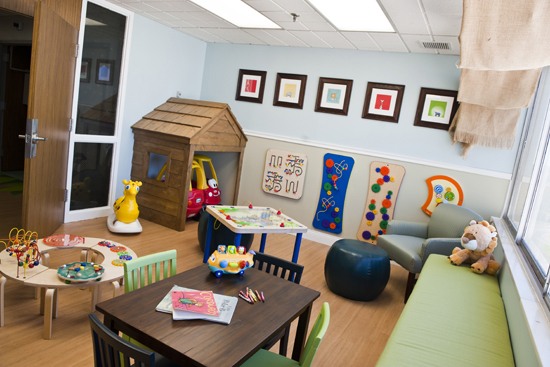 Chippenham pediatric playroom
