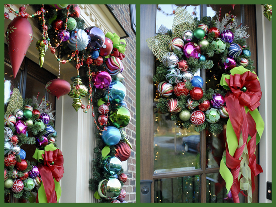 Christmas garland & wreath
