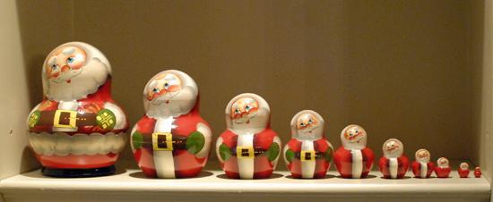 nesting Santas