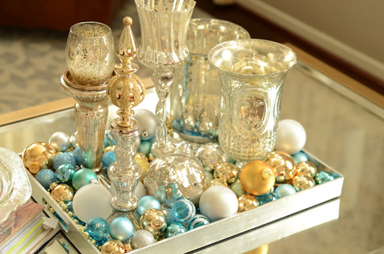 ornaments & tray