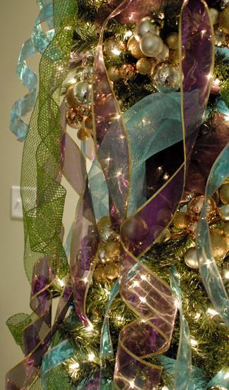 pastel Christmas tree
