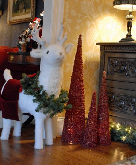 reindeer & trees