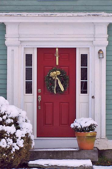 simple front door