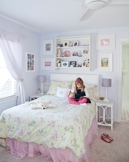 house tour girls bedroom