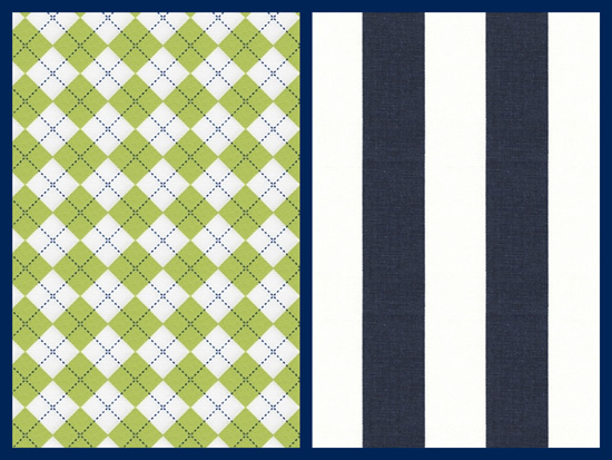 navy nursery fabrics