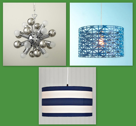 nursery light fixtures